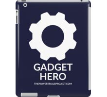 """Gadget"" Hero Logo - Dark Background iPad Case/Skin"