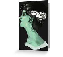 Regency Bride of Frankenstein Greeting Card