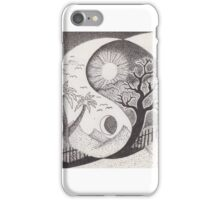 Good over evil iPhone Case/Skin