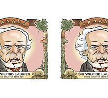 Sir Wilfrid Laurier, Prime Minister of Canada by MacKaycartoons