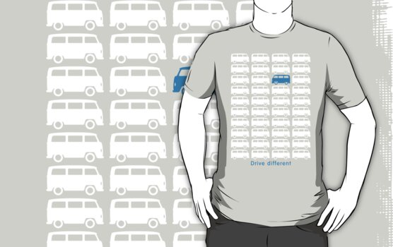 Drive different - Bus (white) by GET-THE-CAR