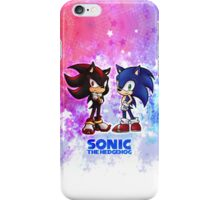 Sonic & Shadow iPhone Case iPhone Case/Skin