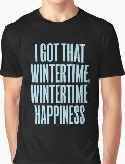 Wintertime Happiness Graphic T-Shirt