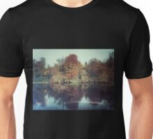 The surface of the autmn refelctions Unisex T-Shirt