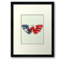 Texas Flying W Framed Print
