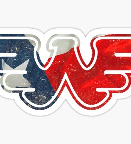 Texas Flying W Sticker