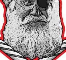 Yo Ho Ho Santa Sticker