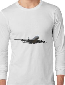 A380 constructor's delivery Long Sleeve T-Shirt