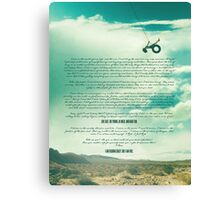 Ride - Monologue Canvas Print
