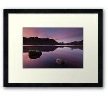 Ullswater Winter Sunrise Framed Print