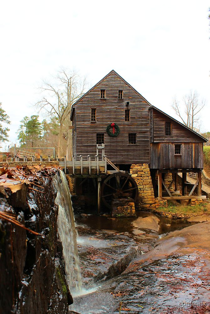 Old Mill Near Raleigh, North Carolina by aprilann