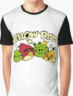 Mellow birds funny nerd geek geeky Graphic T-Shirt