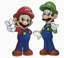 Mario and Luigi Bros. by JamesSansom