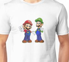 Mario and Luigi Bros. Unisex T-Shirt