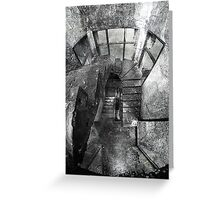 Upstairs/Downstairs Greeting Card