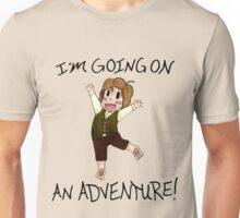 "The Hobbit: ""I'm Going on An ADVENTURE!"" Unisex T-Shirt"