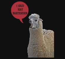 alpaca speaking by Gale Distler