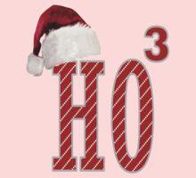 Cute Santa Hat HO3 Christmas Ho Ho Ho Kids Clothes