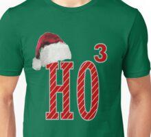 Cute Santa Hat HO3 Christmas Ho Ho Ho Unisex T-Shirt