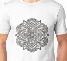 Mandala 54 Monochrome Unisex T-Shirt