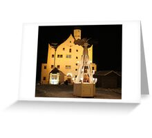 Christmas Time in Saxony Greeting Card