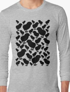 Chick Silhouette Long Sleeve T-Shirt