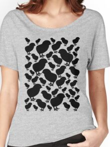 Chick Silhouette Women's Relaxed Fit T-Shirt