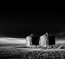 North Dakota Study in B&W III by Nate Welk