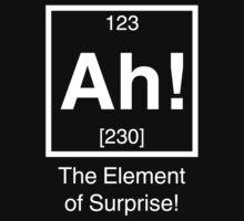 Ah! The element of surprise! | Unisex T-Shirt