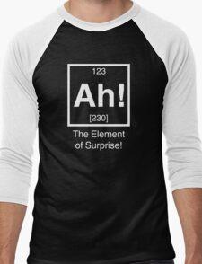 Ah! The element of surprise! Men's Baseball ¾ T-Shirt