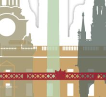 London skyline poster Sticker