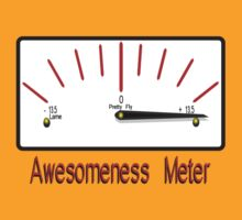 Awesomeness Meter - I am AWESOME by Weber Consulting