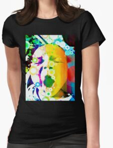 The Yawn of a Babe.  Womens Fitted T-Shirt
