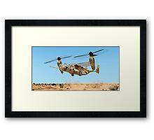 U.S. Marine Corps Osprey Framed Print