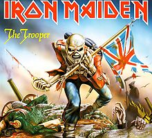 IRON MAIDEN THE TROOPER by GAGAKGALAK