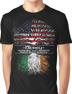 Morey - American Grown with Irish Roots Graphic T-Shirt