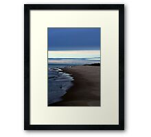 Fall on Lake Michigan 2 Framed Print