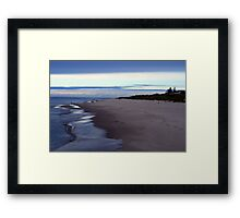 Fall on Lake Michigan 3 Framed Print