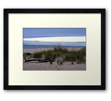 Fall on Lake Michigan 4 Framed Print