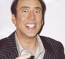 Nicolas Cage Rape Face by Joeytacos