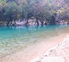 Old Bridge in Epirus  by George Dambassis