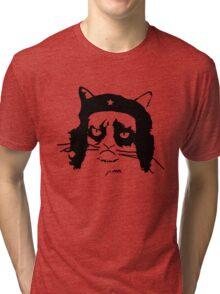 Viva La Meow-volucion! Tri-blend T-Shirt