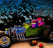 Santa Rod a 23 Ford Model-T Roadster Hot Rod Filled with Gifts! by ChasSinklier