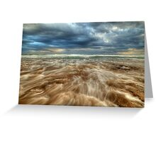 13th Beach Greeting Card