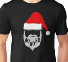 Ho Ho Ho Santa Hat and Beard Unisex T-Shirt