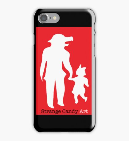 Strange Candy Art iPhone Case/Skin