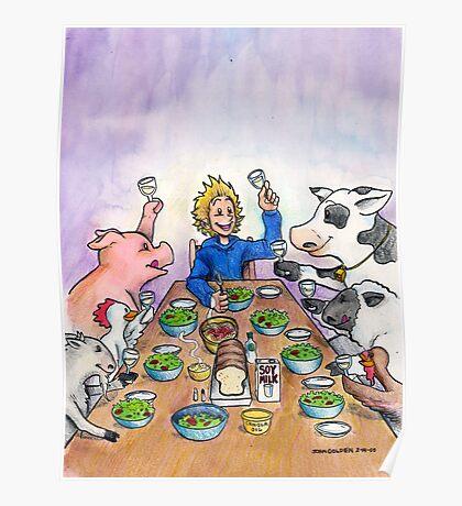 Vegan Thanksgiving Poster