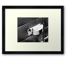 Butt out in style Framed Print