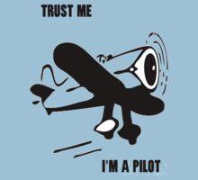 Trust me - I'm a pilot Kids Clothes
