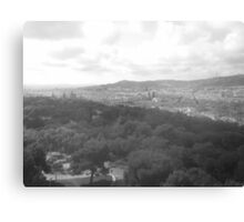 View Over Barcelona Canvas Print